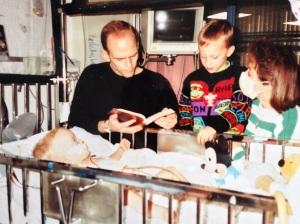 Jackson family after Landry's heart surgery