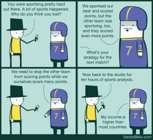 Every sports interview ever. - Imgur