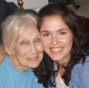 Clarice Davis and Grace Taylor, the author's daughter