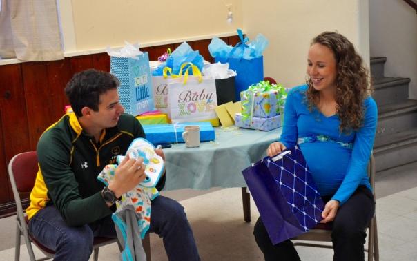 Pregnant Chansin baby shower
